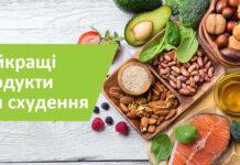 Найкращі продукти для схудення