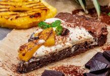 Тропічний рецепт какао-брауні