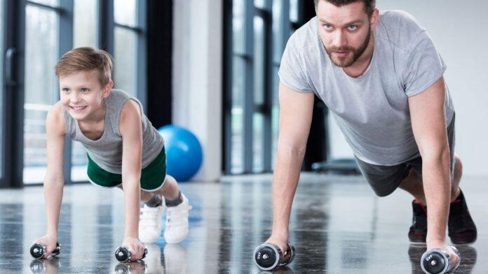Силові тренувань для дітей