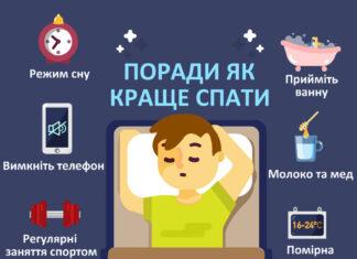 Поради як виспатись